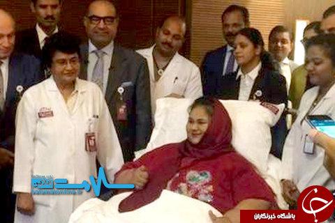 چاق ترین زن دنیا درگذشت +تصاویر