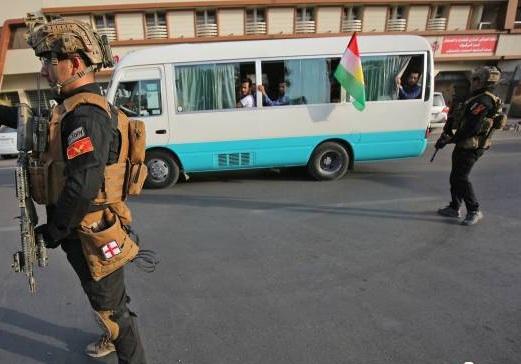 آرامش كامل در كركوك پس از تسلط نيروهای عراقی بر آن