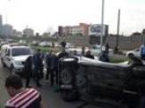 باشگاه خبرنگاران -یک مصدوم در حادثه واژگونی خودروی سواری در انزلی