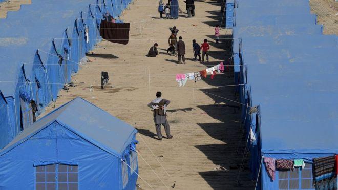 باشگاه خبرنگاران -اسکان آوارگان داخلی در اردوگاه ها متوقف میشود