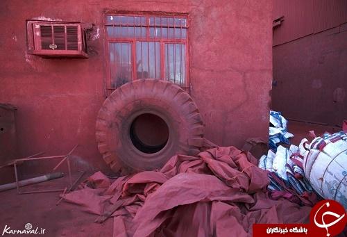 قرمز ترین جای ایران +تصاویر