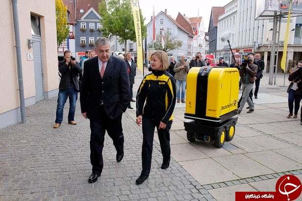 رباتهای هوشمند عهده دار تحویل نامهها در آلمان+ عکس