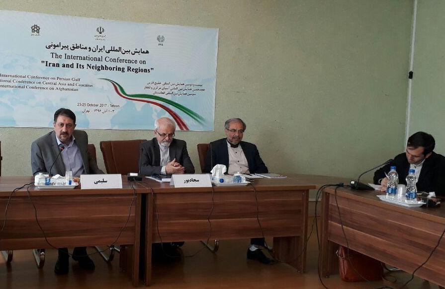 باشگاه خبرنگاران -تبییین «سیاست همسایگی» در همایش بین المللی تهران