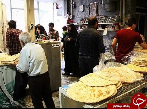 فرهنگیترین نانوایی در ایران +تصاویر