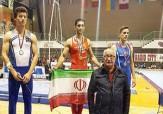 باشگاه خبرنگاران -ژیمناستیک کار فارسی قهرمان مسابقات جهانی اسلوونی