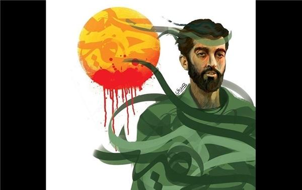 لحظه ورود پیکر شهید حججی به معراج شهدا + فیلم
