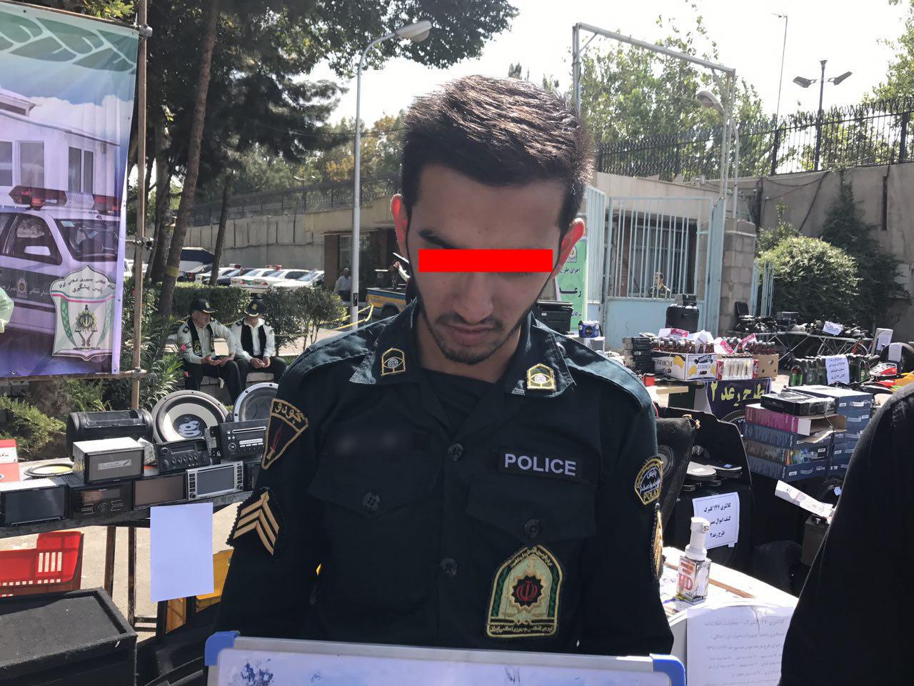 اخاذی مامور اخراج شده نیروی انتظامی از دخترها و پسرهای جوان + عکس