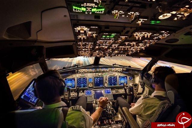 عکس روز نشنال جئوگرافیک از فرود هواپیما در آمستردام