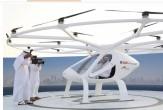 باشگاه خبرنگاران -آزمایش موفقیتآمیز اولین تاکسی پرنده جهان در دبی