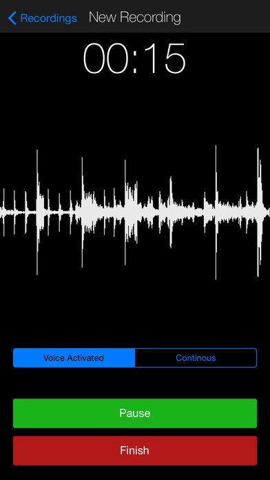 voice recorder premium – dictaphone 2.6 برنامه ضبط صدای اتوماتیک
