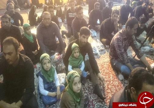 همراهی پدران با دختران در همایش سه ساله های حسینی