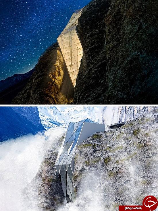 عجیب ترین ساختمان های جهان+تصاویر