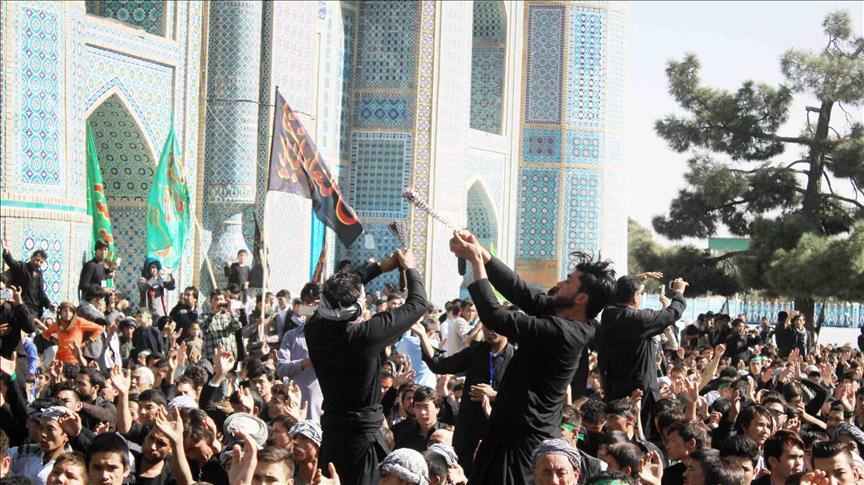 عزاداری باشکوه مردم افغانستان برای سرور شهیدان در ماه محرم