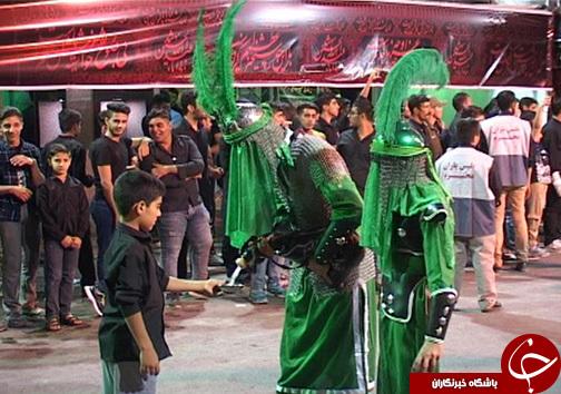 تصاویر عزاداری مردم خرم آباد در شب های ماه محرم