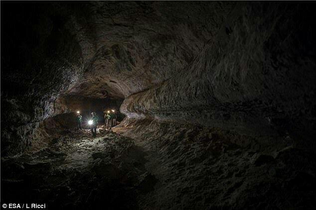 خانه آینده فضانوردان؛ غارهای زیر زمینی سیاره مریخ+ تصاویر