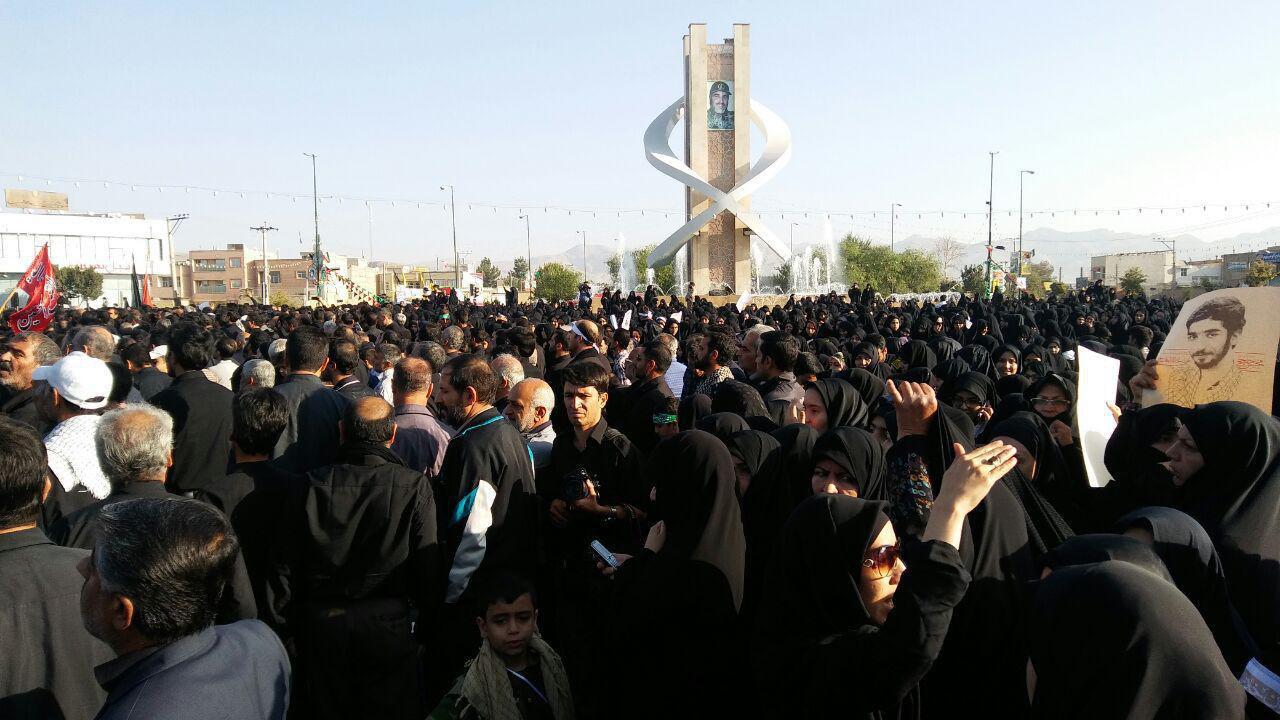 شهید حججی به زادگاه خود رسید