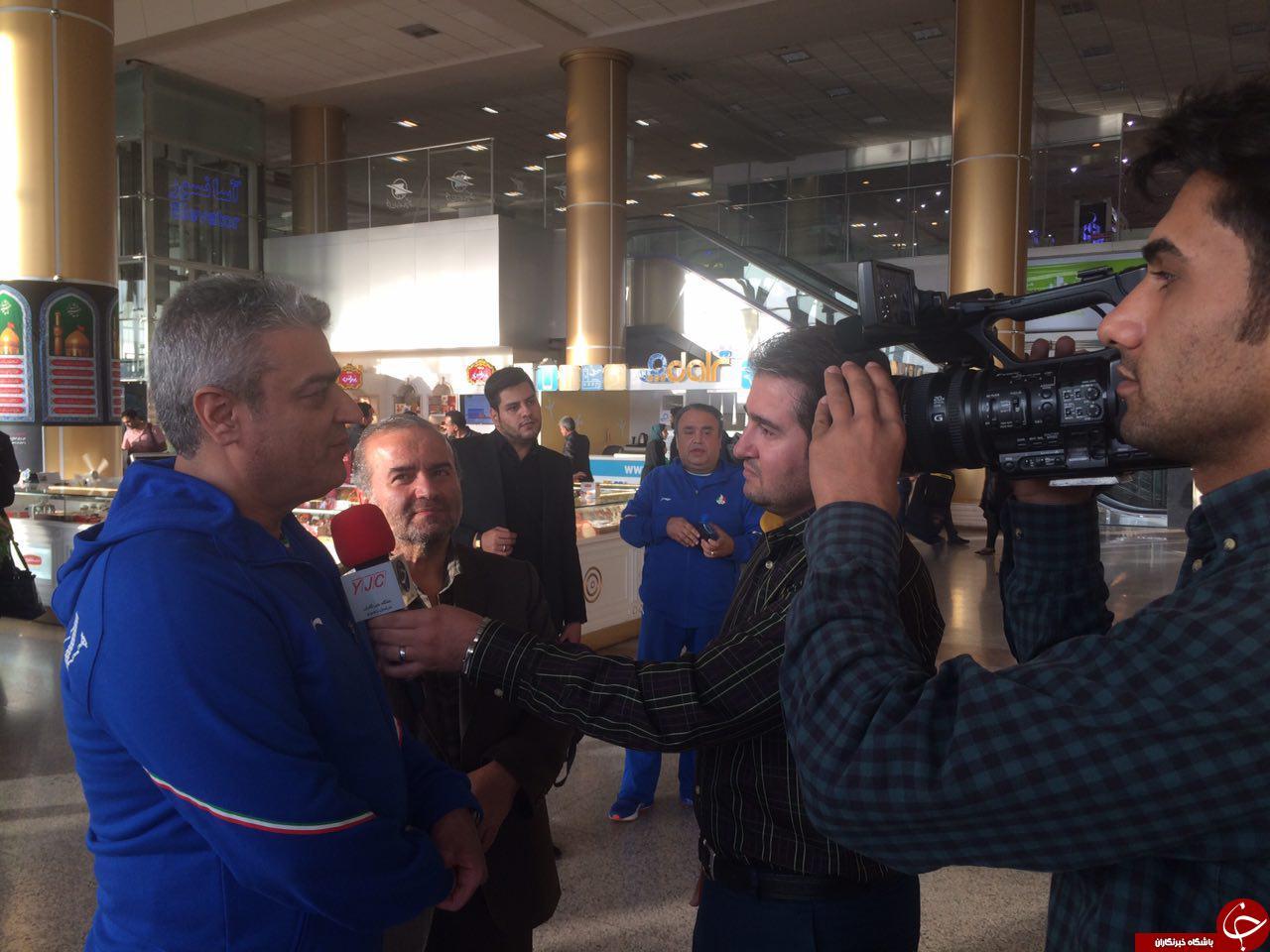 برگزاری مراسم استقبال از تيم ملي بيليارد و اسنوكر ايران پس از قهرماني در رقابت هاي داخل سالن آسيا تركمنستان ٢٠١٧