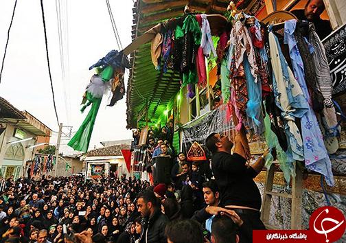 محلههای گرگان امروز میزبان مراسم طوق بندان
