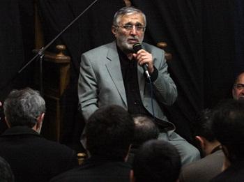 مداحی حاج منصور در بیت رهبری