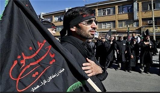 آیین سقایی رسم دیرینه پیر غلامان همدانی در غم سید و سالار شهیدان