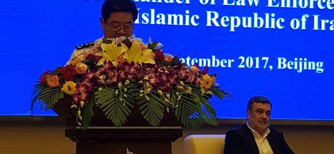 باشگاه خبرنگاران -دیدار فرمانده ناجا با رئیس مرکز آموزش امنیت عمومی چین