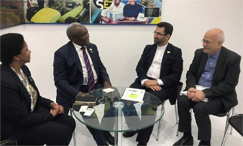 توافق ایران و آفریقای جنوبی برای گسترش همکاری در حوزه ICT