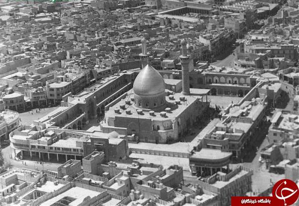 تصاویری قدیمی از حرم حضرت ابولفضل العباس (ع)