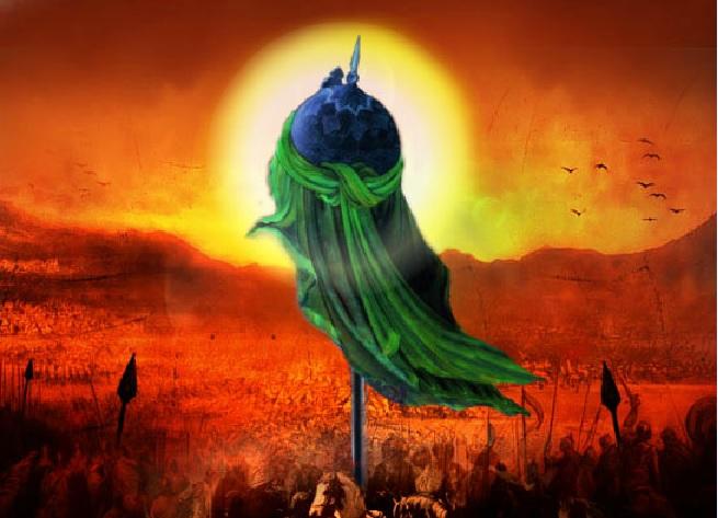 سر مبارک امام حسین(ع) کدام  آیات را تلاوت کرد