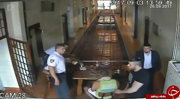 لحظه فرار یک قاتل از زندان فوق امنیتی هرزگوین + فیلم
