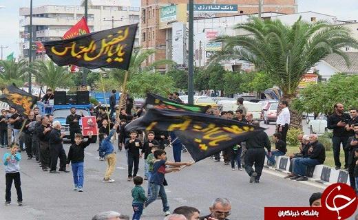 سرزمین علویان طبرستان در سوگواری تاسوعای حسینی+تصاویر