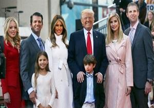 خرج تراشی خوشگذرانی فرزندان ترامپ