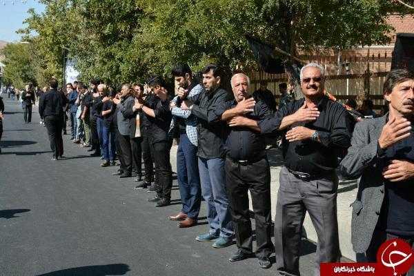 عزاداری مردم شهرستانهای مختلف آذر بایجان غربی در تاسوعای حسینی به روایت تصویر