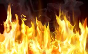 آتش سوزی انبار گندم و جو در مهاباد