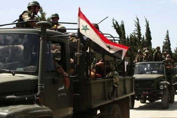 ارتش سوریه و همپیمانان آن مناطقی را در مرز اردن آزاد کردند