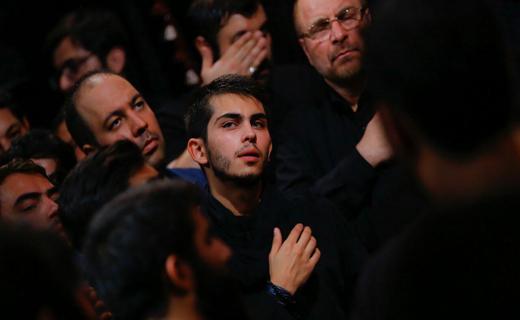 حضور هنرمندان در شب عاشورای حسینی ۹۶