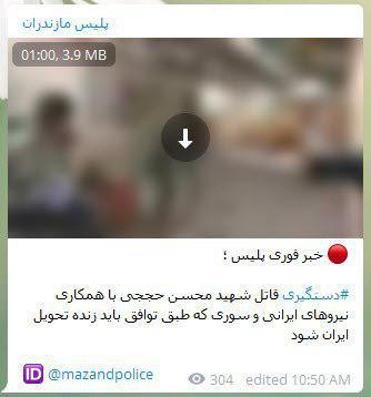 قاتل شهید محسن حججی دستگیر شد؟ + فیلم