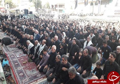 نماز ظهر عاشورا به یاد آخرین نماز سید الشهدا (ع) در ارومیه اقامه شد