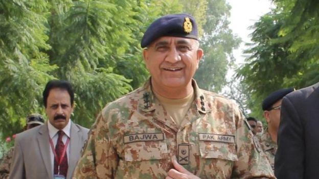 رئیس ستاد ارتش پاکستان به کابل سفر کرد