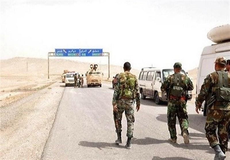 بازگشایی رسمی جاده دیرالزور-تدمر در سوریه