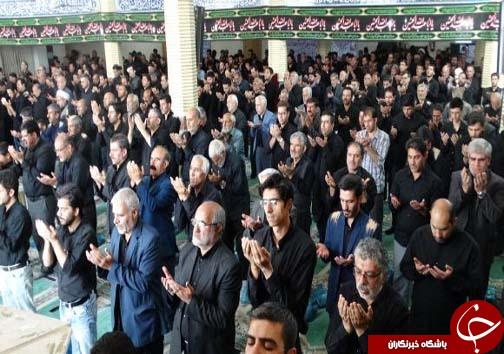 نماز ظهر عاشورا در الیگودرز اقامه شد