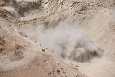 انفجار در تونل