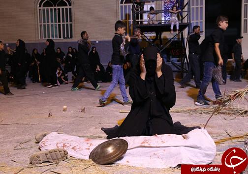 برگزاری مراسم شام غریبان در فارس + تصاویر