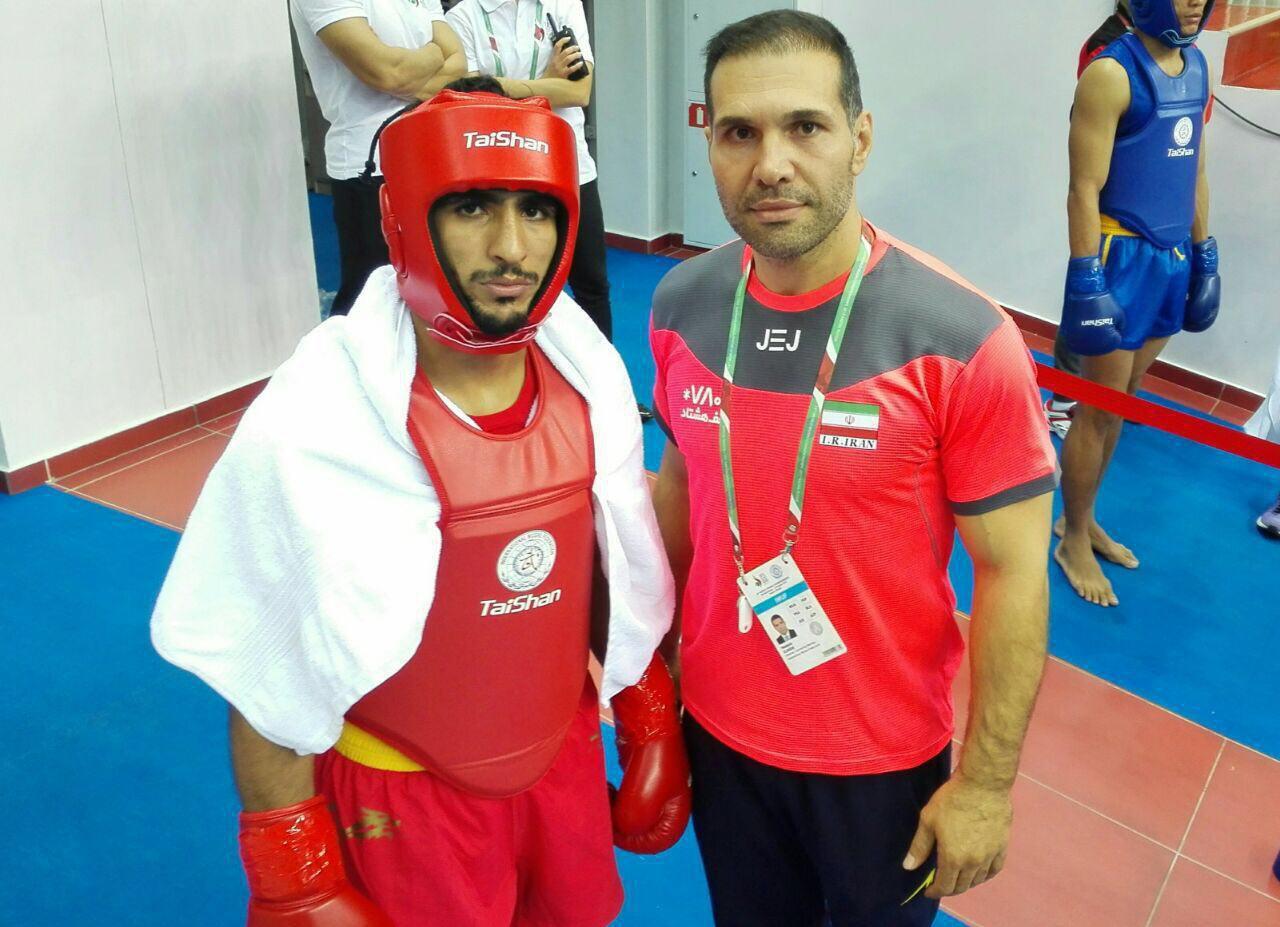 باشگاه خبرنگاران -صعود محسن محمدسیفی به مرحله نیمه نهایی مسابقات