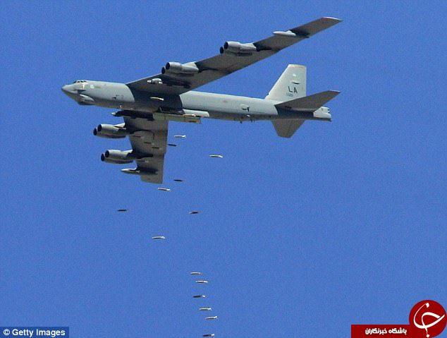 آمریکا پس از ۲۶ سال بمب افکنهای خود را به حالت هشدار در میآورد! + تصاویر
