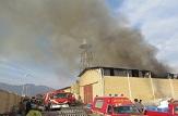 باشگاه خبرنگاران -آتش سوزی در کارگاه توزیع سیلندر گاز مایع