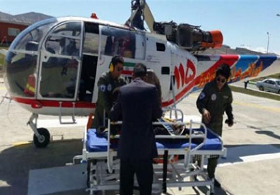 باشگاه خبرنگاران -بالگرد اورژانس هوایی برای نجات بیمار الیگودرزی اعزام شد