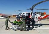 باشگاه خبرنگاران -اعزام بالگرد اورژانس هوایی الیگودرز برای نجات مادر باردار