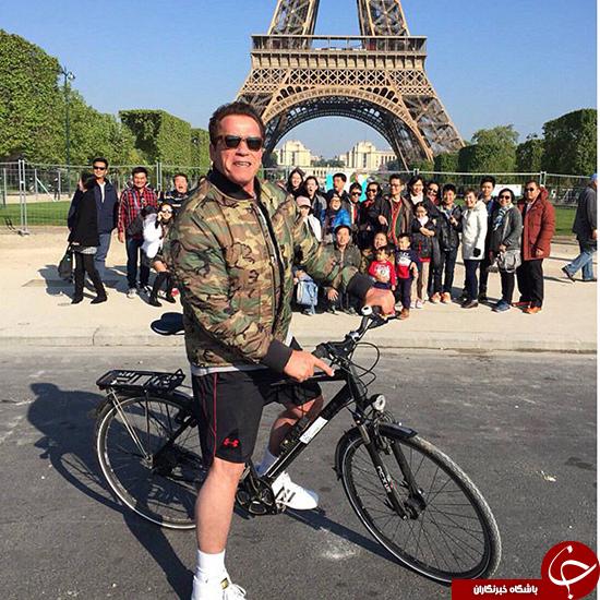 وقتی که بازیگر هالیوود عکس توریستها را خراب کرد +عکس