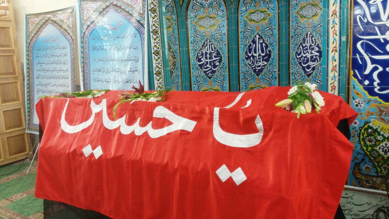 پیکر ابوی سردار سلیمانی تشییع و تدفین شد