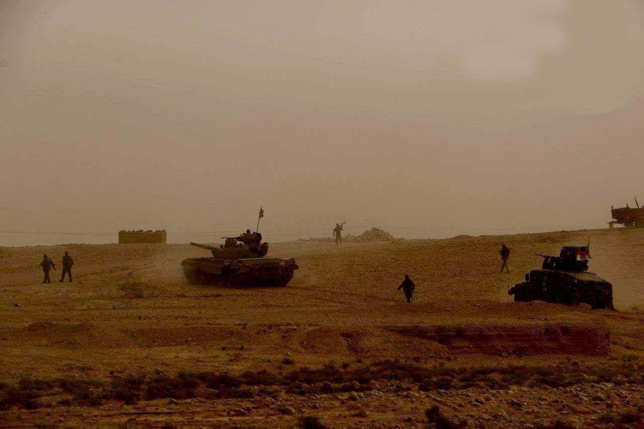 منطقه «العبیدی» در شرق «القائم» عراق آزاد شد